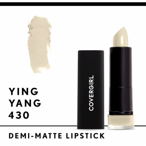 CoverGirl Exhibitionist Demi-Matte Lipstick - 430 Ying Yang Perspective: front