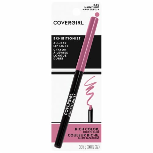 CoverGirl Exhibitionist 230 Mauvelous Lip Liner Perspective: front