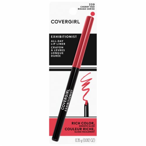 CoverGirl Exhibitionist 220 Cherry Red Lip Liner Perspective: front