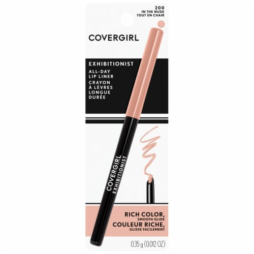 CoverGirl Exhibitionist In The Nude Lip Liner Perspective: front