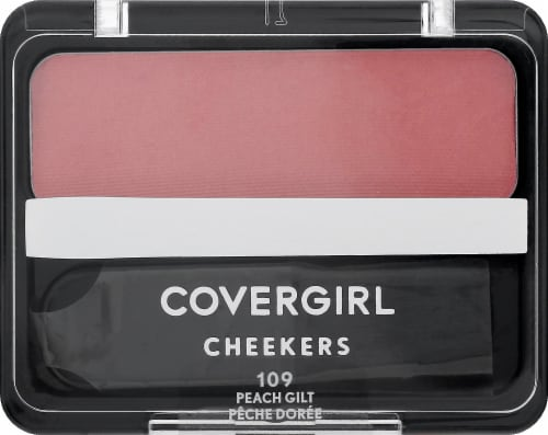 CoverGirl Cheekers Peach Gilt Blush and Bronzer Powder Perspective: front