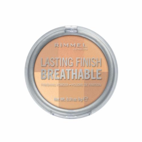 Rimmel Lasting Finish Breathable Finishing Powder Perspective: front