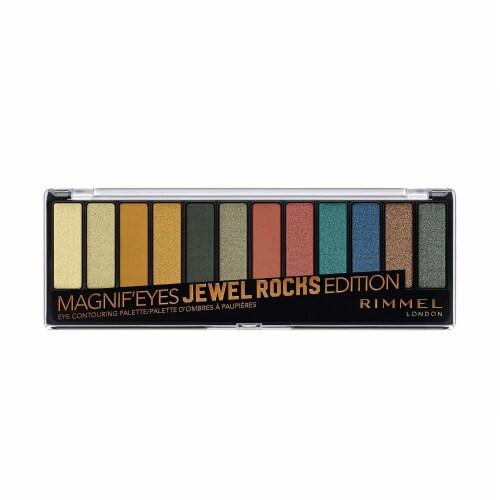 Rimmel London Magnif'Eyes Jewel Rocks Edition Eye Contouring Palette Perspective: front