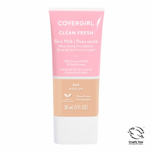 CoverGirl Clean 560 Medium Fresh Skin Milk Foundation Perspective: front