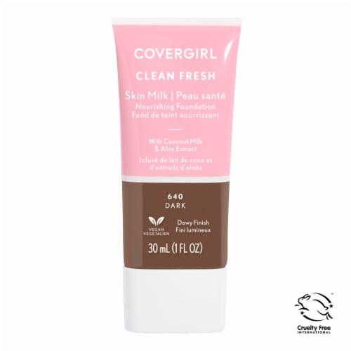 CoverGirl Clean 640 Dark Fresh Skin Milk Foundation Perspective: front