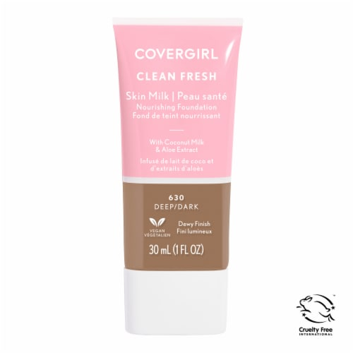 CoverGirl Clean Fresh Skin Milk Nourishing Foundation Perspective: front