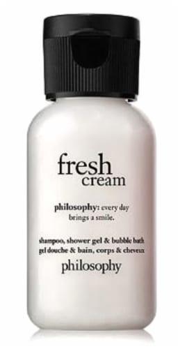 Philosophy Fresh Cream Mini Shampoo Shower Gel & Bubble Bath Perspective: front