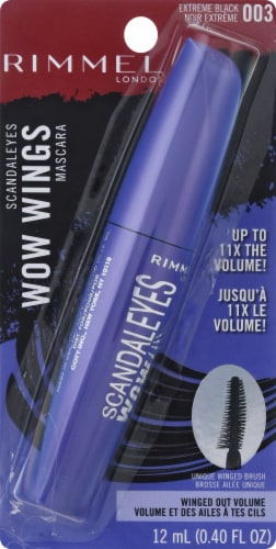 Rimmel Scandaleyes Wow Wings Mascara - Extreme Black Perspective: front