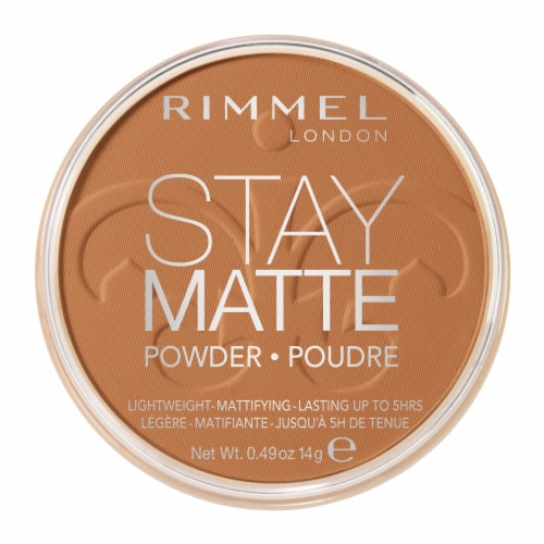 Rimmel Stay Matte 031 Pecan Pressed Powder Perspective: front