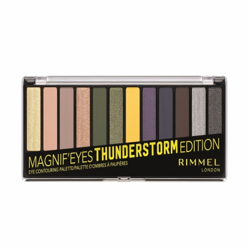 Rimmel London Magnif'Eyes Thunderstorm Edition Eye Shadow Perspective: front