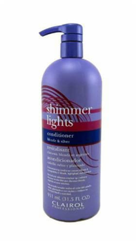 Clairol Professionals Shimmer Lights Blonde and Silver Conditioner Perspective: front