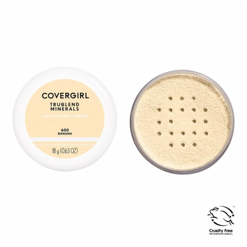 CoverGirl TruBlend Minerals 600 Banana Loose Mineral Powder Perspective: front