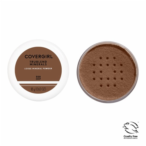 CoverGirl TruBlend Minerals 500 Deep Loose-Minerals Powder Perspective: front