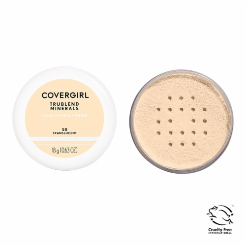 CoverGirl TruBlend Minerals 50 Translucent Loose Minerals Powder Perspective: front
