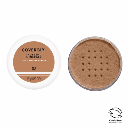 CoverGirl TruBlend Minerals 400 Tan Loose-Minerals Powder Perspective: front
