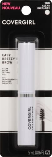 CoverGirl Easy Breezy Brow 100 Clear Brow Setting Gel Perspective: front
