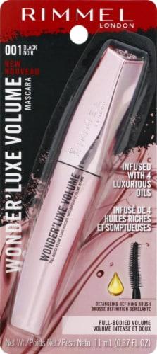 Rimmel Wonder'Luxe 001 Black Volume Mascara Perspective: front