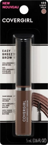 CoverGirl Easy Breezy Brow 105 Light Pale Volumizing Brow Gel Perspective: front