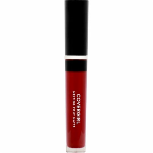 CoverGirl Melting Pout Matte Blood Moon Liquid Lipstick Perspective: front