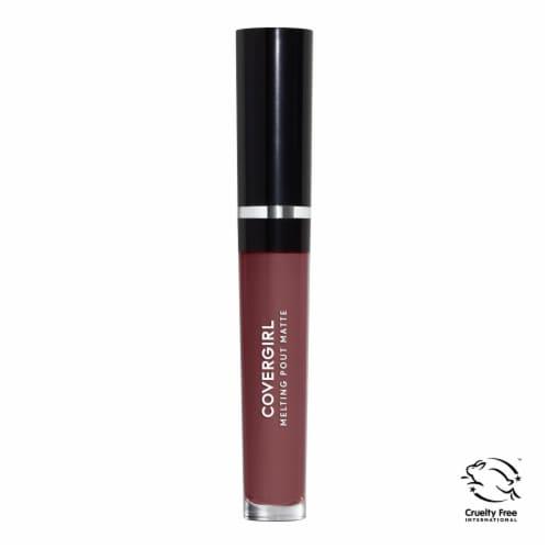 CoverGirl Melting Pout Aristocratic Matte Liquid Lipstick Perspective: front