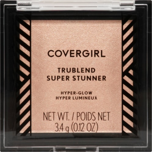 CoverGirl TruBlend Super Stunner Pearl Crush Highlighter Powder Perspective: front