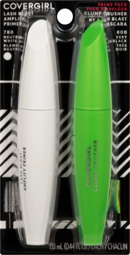 CoverGirl Lash Blast Amplify Primer & Clump Crusher Mascara Perspective: front