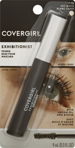CoverGirl 775 Off White Exhibitionist Lash Primer Perspective: front