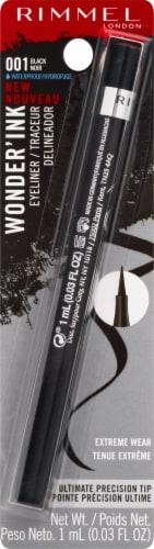 Rimmel London Wonder'Ink 01 Black Eyeliner Perspective: front