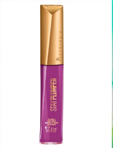 Rimmel Stay Plumped 840 Show Stopper Lip Gloss Perspective: front