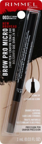 Rimmel London Pro Micro 003 Soft Brown Brow Pencil Perspective: front