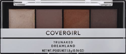 CoverGirl TruNaked Dreamland 760 Eyeshadow Quads Perspective: front