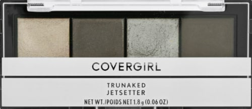 CoverGirl TruNaked Jetsetter 745 Eyeshadow Quads Perspective: front
