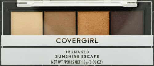 CoverGirl TruNaked 750 Sunshine Escape Eyeshadow Quad Perspective: front