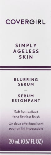 CoverGirl Simply Ageless Skin Blurring Serum Perspective: front