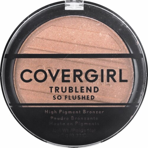 CoverGirl TruBlend So Flushed Sunset Glitz 390 High Pigment Bronzer Perspective: front