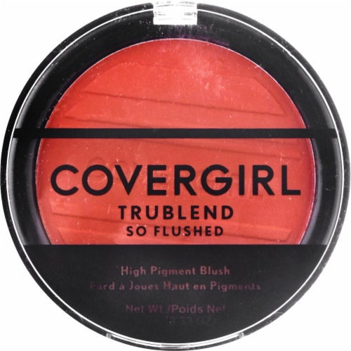 CoverGirl TruBlend So Flushed Hot & Frenzy 345 High Pigment Blush Perspective: front