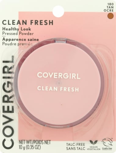 Covergirl Clean Fresh Healthy Look 180 Tan Pressed Powder Perspective: front