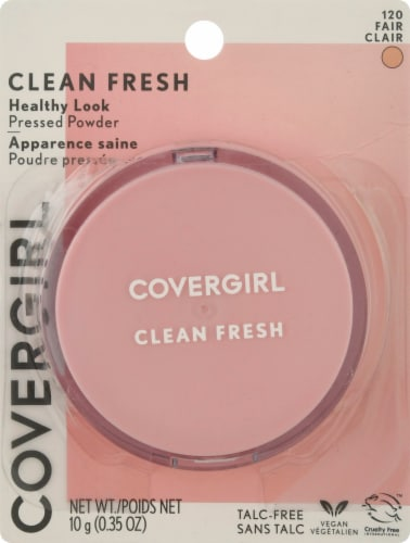 Covergirl Clean Fresh Healthy Glow 120 Fair Pressed Powder Perspective: front