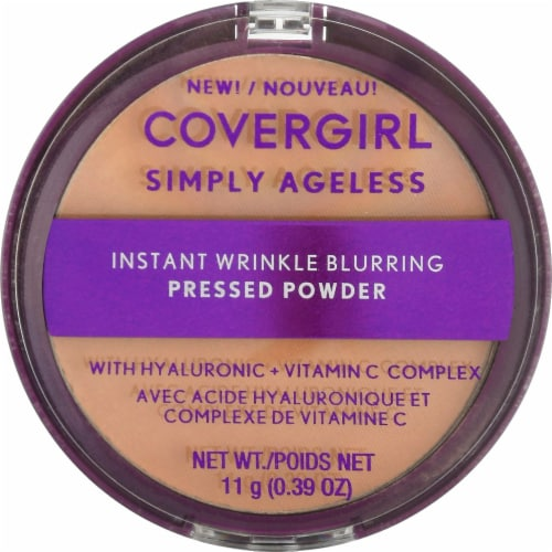 CoverGirl Simply Ageless 210 Classic Ivory Translucent Powder Perspective: front