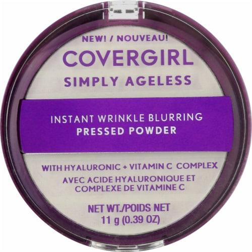 CoverGirl Simply Ageless 100 Translucent Pressed Powder Perspective: front