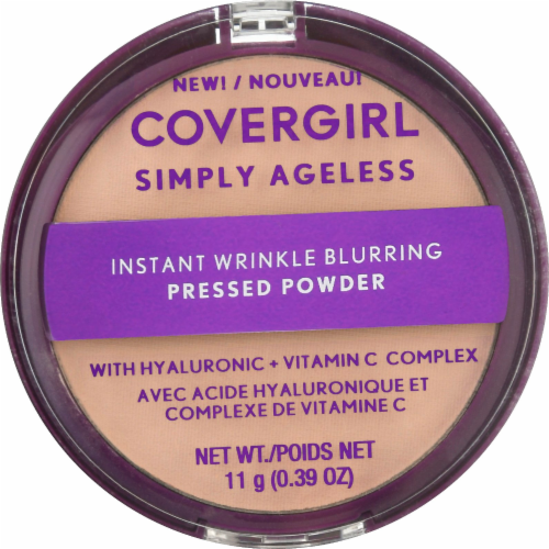 CoverGirl Simply Ageless 200 Fair Ivory Translucent Powder Perspective: front