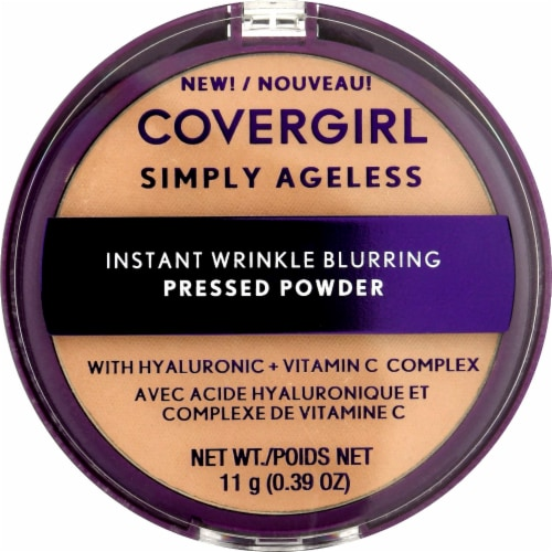 CoverGirl Simply Ageless 225 Buff Beige Pressed Powder Perspective: front