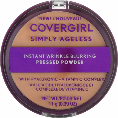 CoverGirl Simply Ageless 240 Natural Beige Pressed Powder Perspective: front