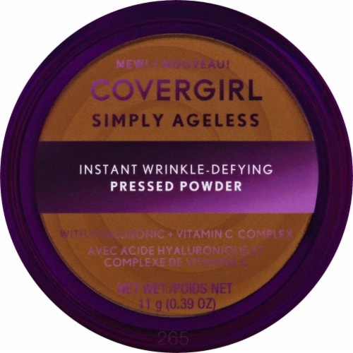 CoverGirl Simply Ageless 265 Tawny Translucent Powder Perspective: front