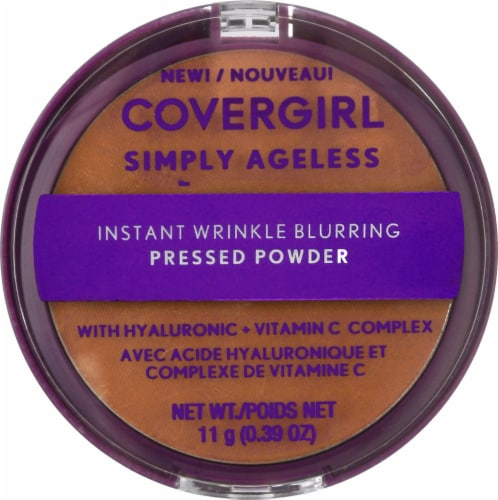 CoverGirl Simply Ageless 275 Soft Sable Translucent Powder Perspective: front