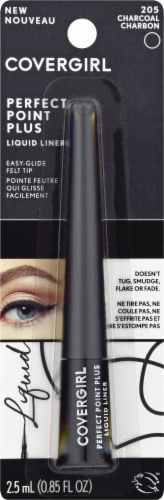 CoverGirl Point Perfect Plus 205 Charcoal Liquid Eye Liner Perspective: front