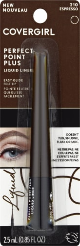 CoverGirl Perfect Point Plus 210 Espresso Liquid Eye Liner Perspective: front