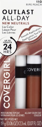 CoverGirl Outlast All Day 110 Ripe Peach Lip Color Perspective: front