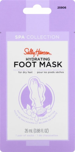 Sally Hansen Spa Collection Hydrating Foot Mask Perspective: front