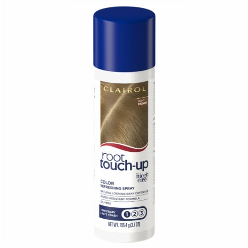 Clairol Root Touch-Up Light Brown Color Refreshing Spray Perspective: front